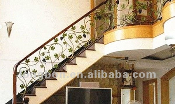 Top venta moderna mano forja de hierro barandillas para escaleras barandillas y pasamanos - Barandas de forja para escaleras ...