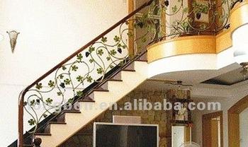Top venta moderna mano forja de hierro barandillas para escaleras buy hierro barandillas para - Barandas de hierro modernas ...
