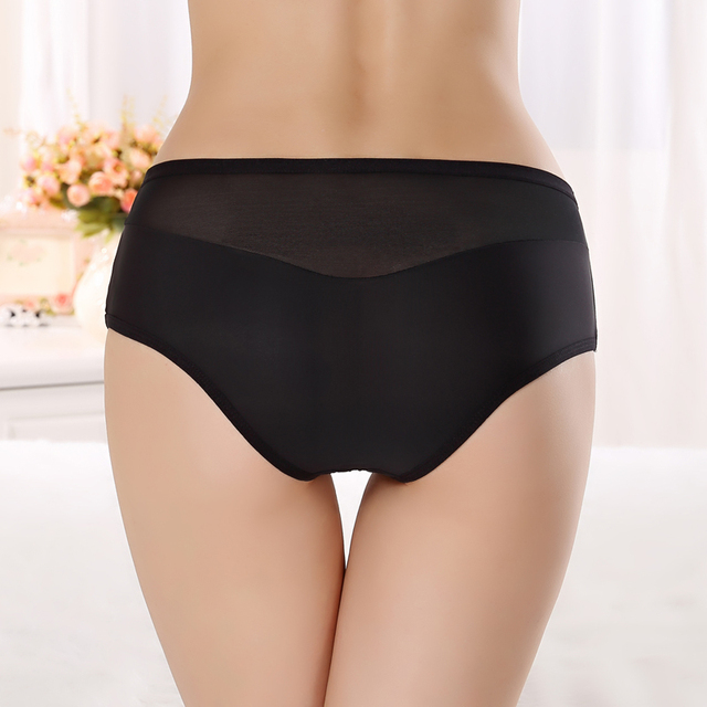 2017 New Designed Comfortable Boyshort Cotton Underwear For Mature Ladies  Sexy Women Panties