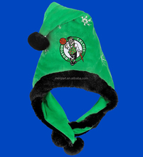 Forever Collectibles Boston Celtics temáticos Santa sombrero