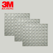 3M adhesive tape Protective Product excellent for anti slip silicone pad clear mats SJ5312 3000PCS/case size 12.7MM*3.6MM