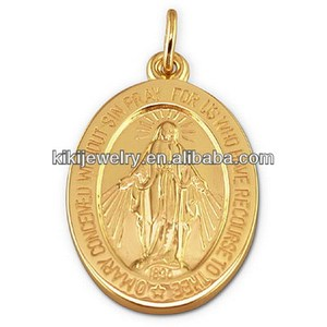 alibaba china supplier mini miraculous medal charm