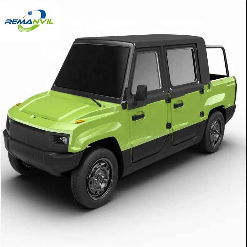 Double Cabin Electric Pickup Truck With Full Door - Buy 4 Seats  Car,Electric Pickup Car,Pickup Truck Product on Alibaba com