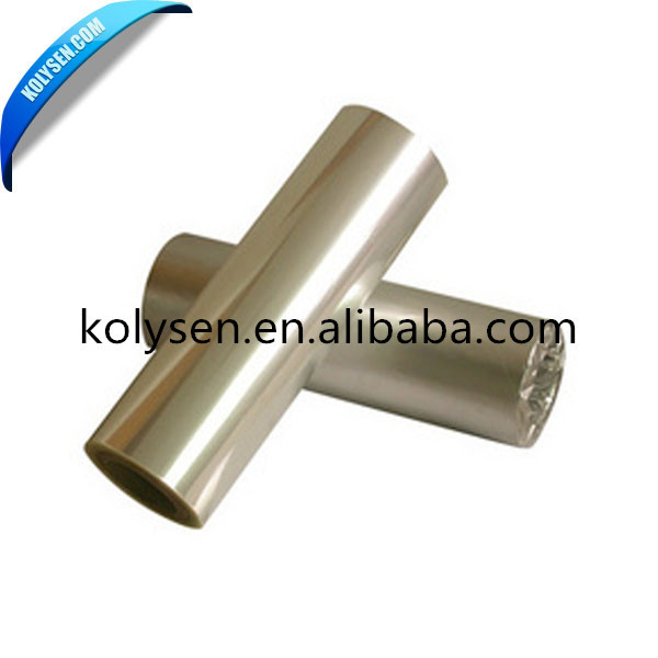 Colorful Metallized PET Film Metallic Polyester Film for Packaging and Print