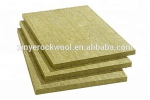 Mineral wool rock wall insulation panel rigid rockwool marine slab