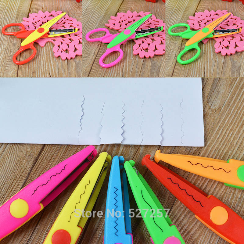 Decorative Craft Border Sewing Scissors Scallop Wavy Pinking Paper Shear