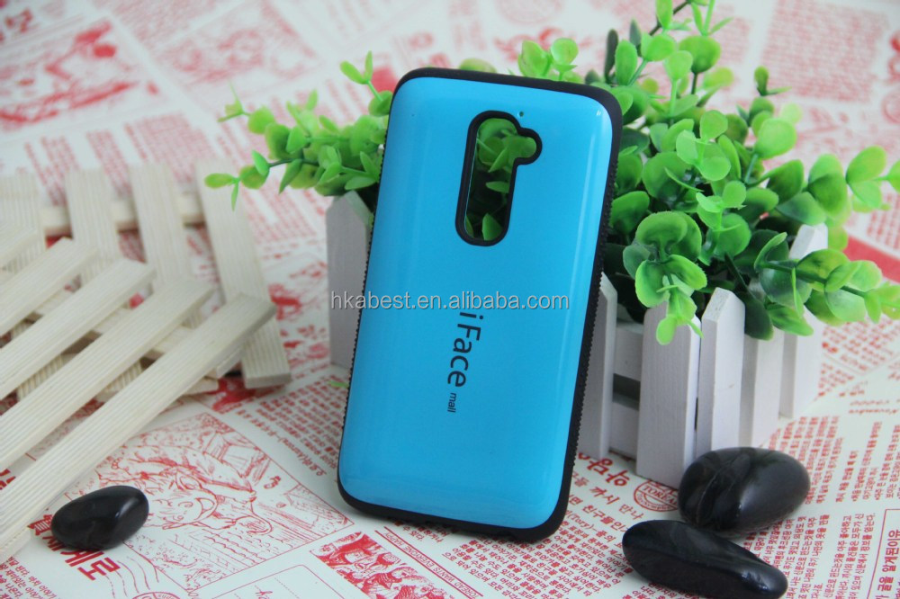 iFace Mall CS-07 TPU+PC cover case for LG Optimus G2 D802 smart mobile phone