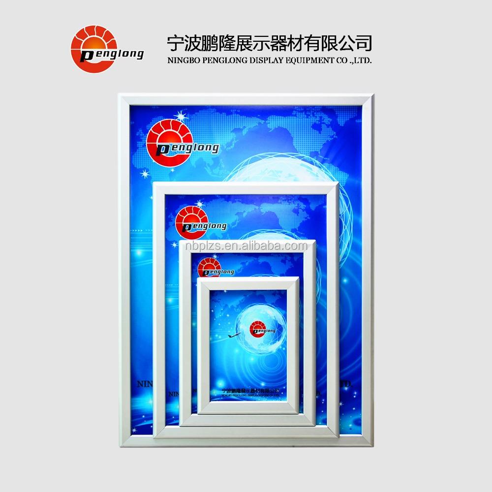 Buena calidad Snap marcos marco de la pared colgante 8.5x11 ...