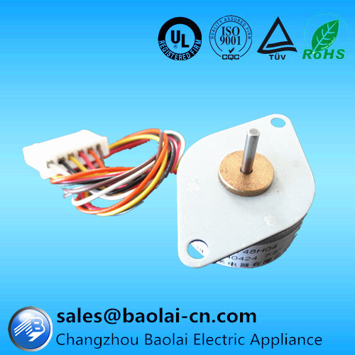 NEMA10 25mm PM type bipolar small stepper motor with one year warrantly and lifelong repair