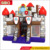 Inflatable jumping bouncing castle of indoor soft playground games for fun