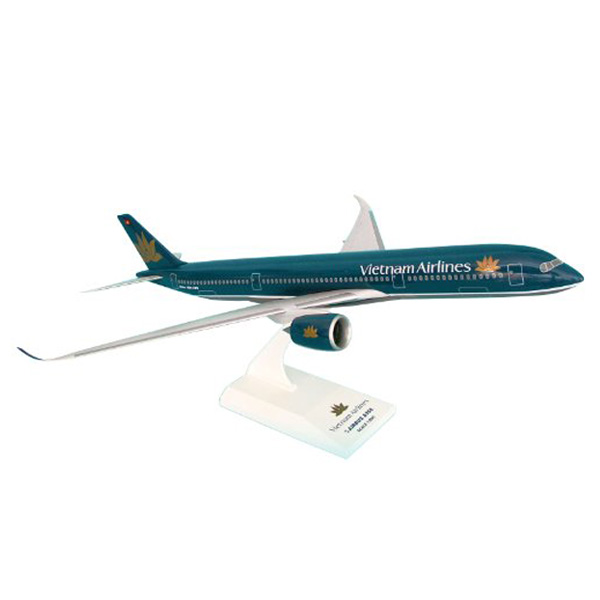 Resin Vietnam Airlines A350 Airplane Model