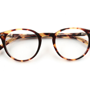oval acetate reading glasses for computer work with clear lens