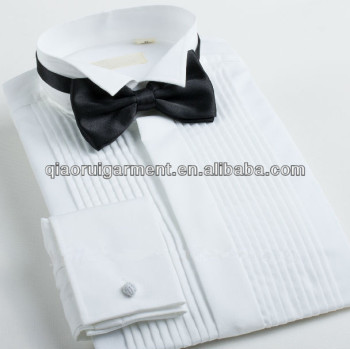 80fe8dffaa2 ELegant style Dress Formal tuxedo shirt for men Wing-tip Collar   cufflinks