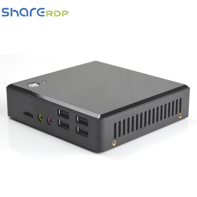 Fanless computer braccio workstation thin client per il digital signage