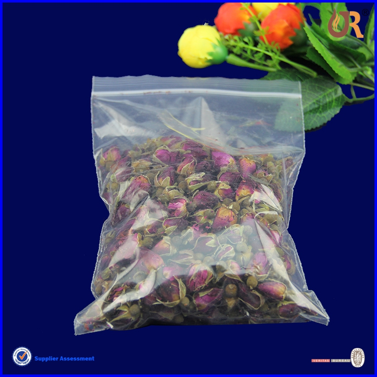 Cheap price transparent Wicket plastic bag Blockhead plastic bag for food packaging