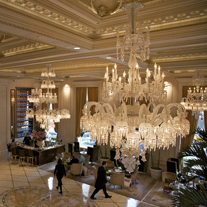 huge selection of e37d9 1b465 Custom hotel decoration luxury K9 crystal chandeliers