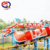 Amusement kids train hot sale, slide dragon roller coaster train ride for sale