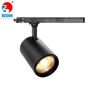 Besun 2019 Integrated Philips Cob Led Track Light 15 45w Dip Cct And Beam Angle Mini Rail Spotlight Lighting