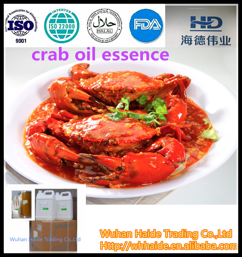 food additives /crab oil essence widely use for Canned,Sauce,snacks,seasonning processing and so on