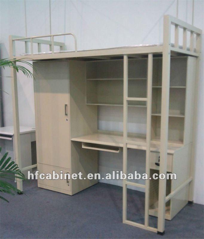Acero cama litera con escritorio cama con escritorio - Camas literas con escritorio ...