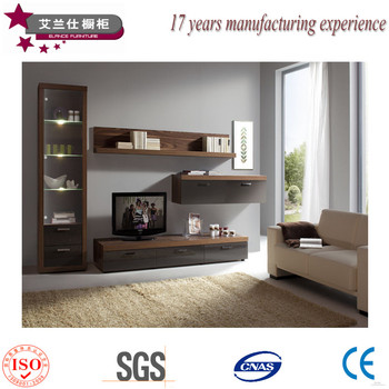 modern design living room tv set furniture,tv wall units wooden tv