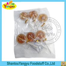 Wholesale promotion sweet and salt plum lollipop candy