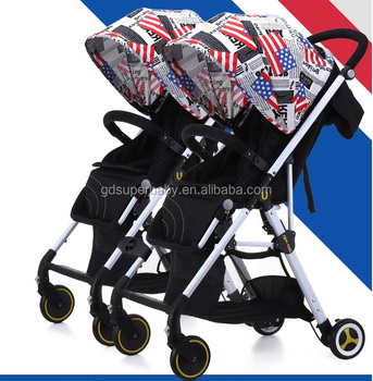 Twins Strollers Foldable Prams For Newborns Portable Baby Carriage