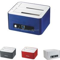 Blueendless USB 3.0 Dual-Bay HDD Docking Station for Hard Drive