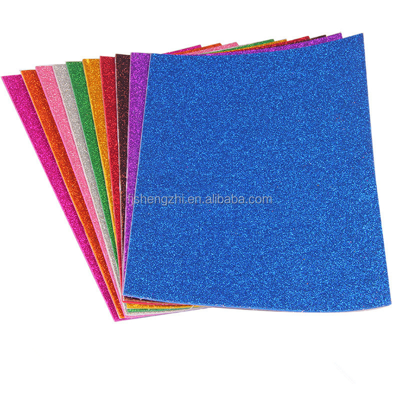 wholesale Glitter EVA foam sheets cheap Arts and crafts eva foam for kids