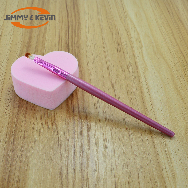 China Fabrikant OEM Borstel Rose Goud Mengen Oogschaduw Lip Make-Up Kwasten Kit