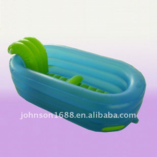 Inflatable bath pool for promotion