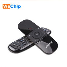 Wechip android mouse de aire W1 control remoto set top box control remoto universal para smart tv