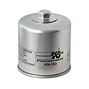 K & N Oil Filter KN-163 K1200RS (98-05), R1100GS (93-98), R1100R (95-00), R1100RS (95-01), R1100RT (99-00), R1100S (99-05), R1150GS / ADVENTURE (99-05), R1150R (01-05), R1150RS (02-05)