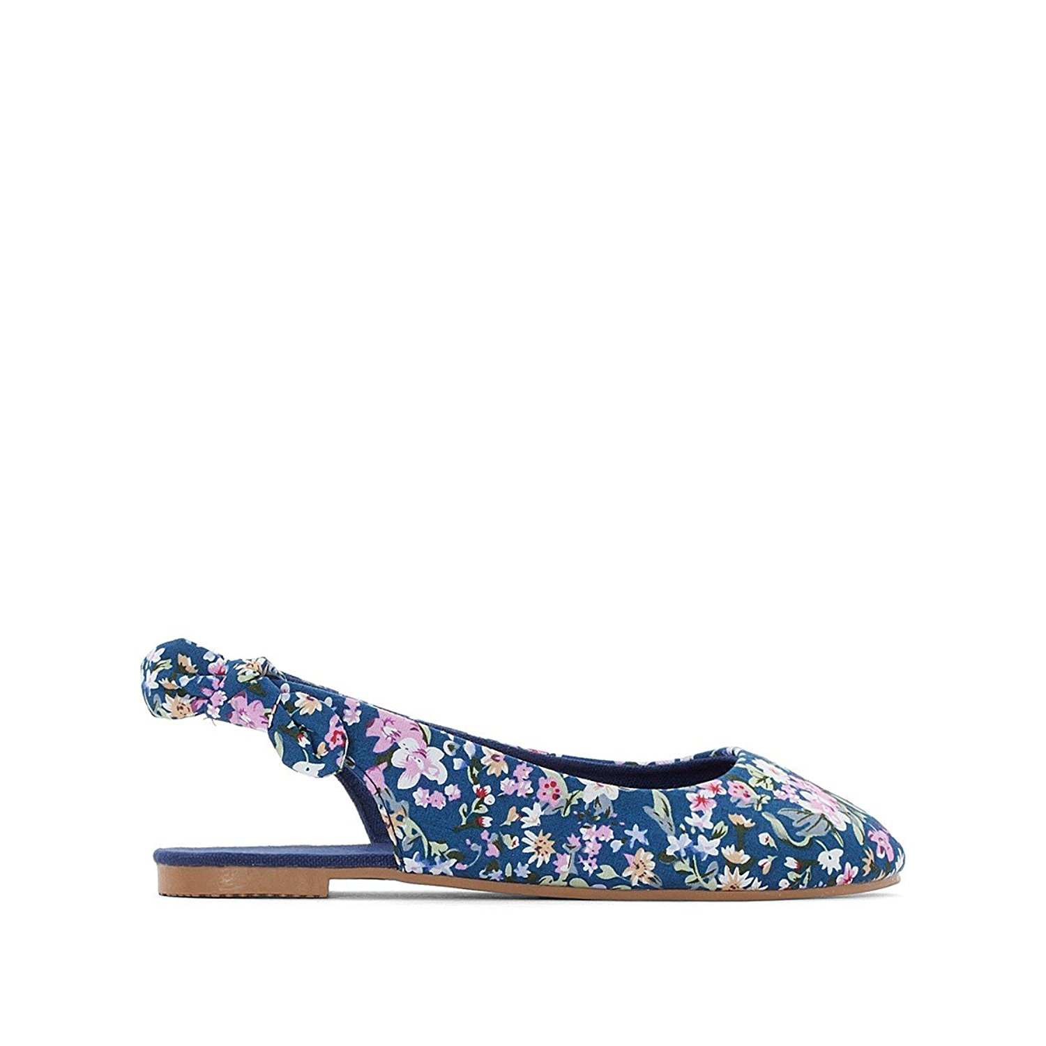La Redoute Collections Big Girls Sparkly Sandals Blue Size 37