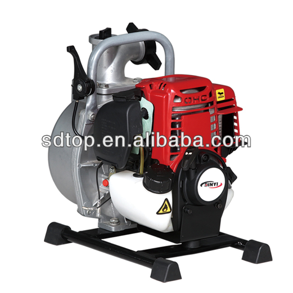 hot selling gardending portable 4 cycle engine 1.5 inch water pump