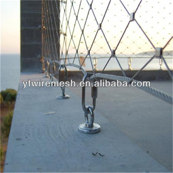 Architectural X-tend Stainless Steel Wire Rope Mesh Web-net