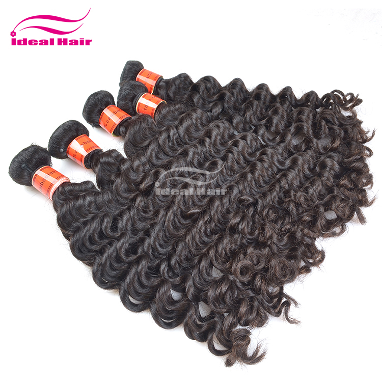 Factory price full cuticle virgin remy unprocessed jojo hair extensions