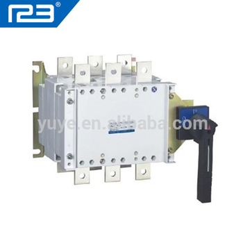 I-O-II Three Positions Socomec changeover switch 3P Manual transfer Switch,  View transfer switch, YUYE Product Details from One Two Three Electric