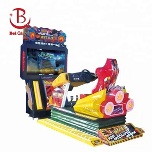 Simulator Arcade 3D Post Apocalyptic Mayhem Racing car Game Machine Coin operated Car Driving Video Games