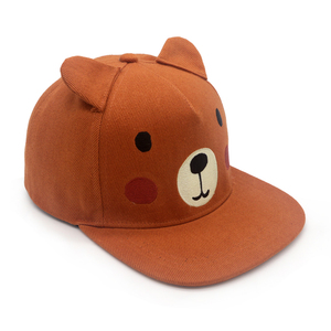 fcce3bd39 Wholesale costom cute bear Embroidered Snapback Cap 100 Acrylic Snapback  Hat for Kids