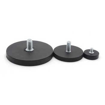 rubber coated holding neodymium magnet 66mm