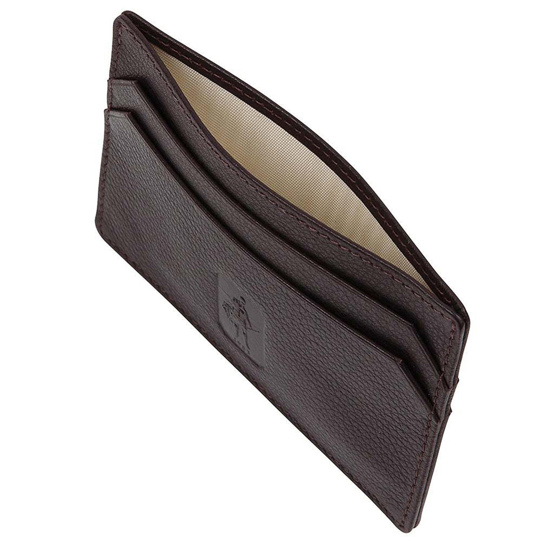 David Hampton Luxury Leather Slim Card Holder Malvern