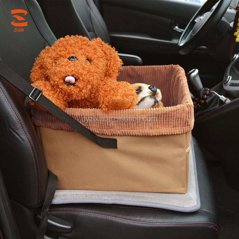 New Design China Manufacture Waterproof Car Dog Pet Booster Seat For Cars Front Seat