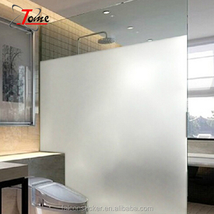 Privacy Window Film Self Adhesive Glass Stickers Frosted Glass Window Film