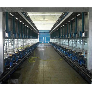 Electronic Milk Meter type Milking Parlor with Quick Exit Canopy System (cow)
