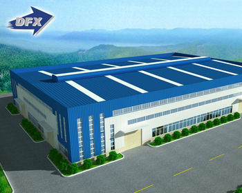 Architecture CAD Design Steel Structure Building Price Prefabricated Steel Frame Warehouse