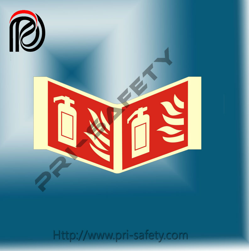 fire and safety signs, luminious safety signs and notices