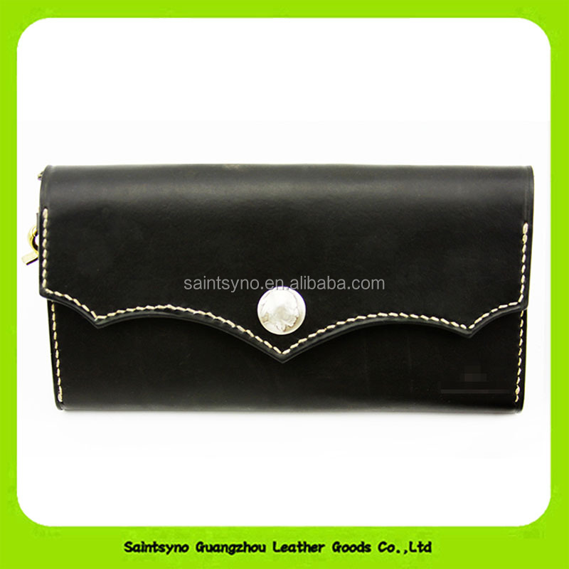 16872 Manufacturing handmade simple style vintage small genuine cow leather coin bag purse