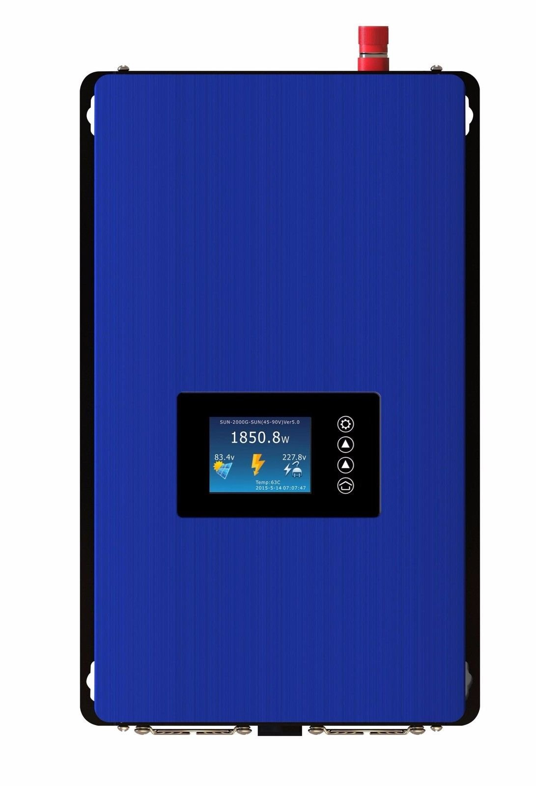 LCD Display 1000W MPPT Solar Grid Tie Inverter Pure Sine Wave DC45-90V TO AC230V