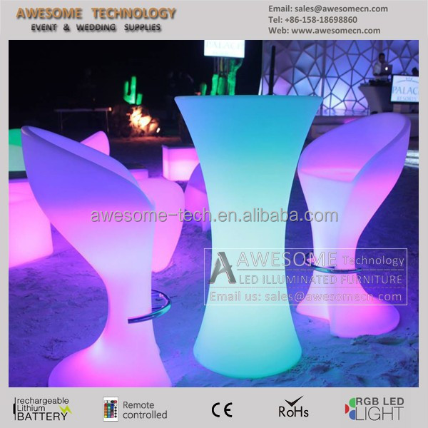 led coffee table / make up table with lights (TP110B)